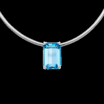 Santa Maria Aquamarine Necklace