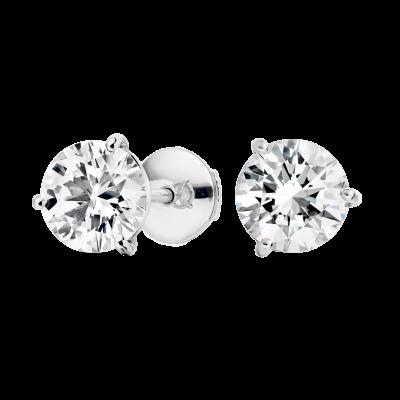 Diamond Studs 2.48 carats total