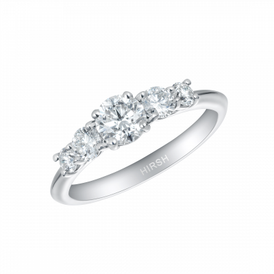 Cinq Diamond Ring