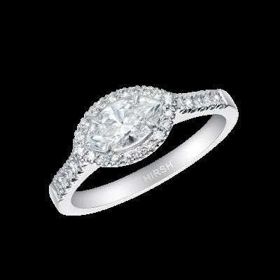 Regal Marquise Diamond Ring