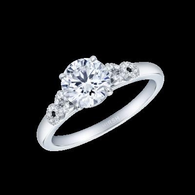 Infinity Round Diamond Ring