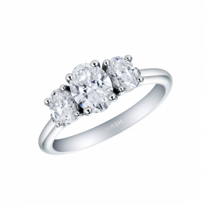 Trilogy Oval Ring