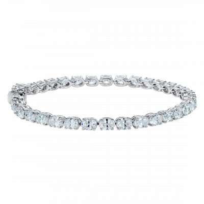 Brilliant Cut Oval Diamond Bracelet