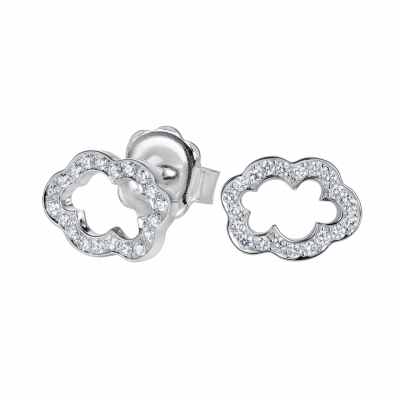 Cloud 9 Diamond Earrings