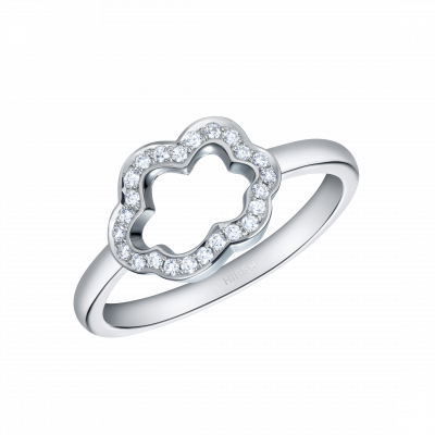 Cloud 9 Diamond Ring