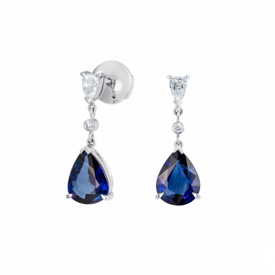 Grafton Sapphire and Diamond Earrings