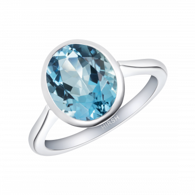 Venus Aquamarine Ring