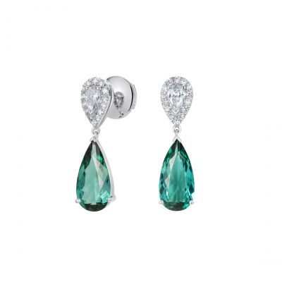 Burlington Lagoon Tourmaline Earrings