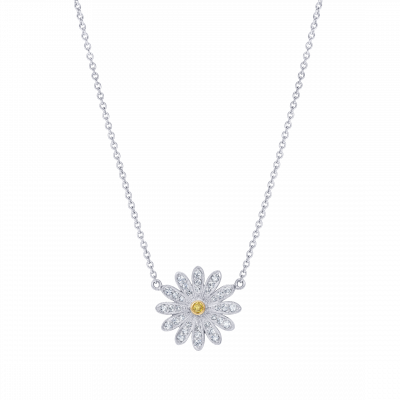 Wildflower Daisy Pendant