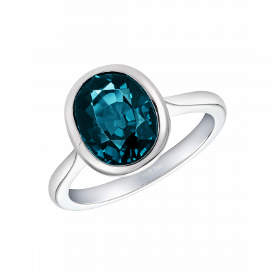Venus Blue Spinel Ring