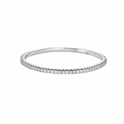 Advantage Diamond Bracelet in White Gold