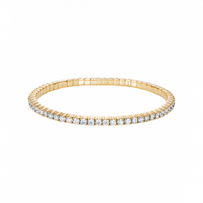 Large Advantage Bracelet in Yellow Gold