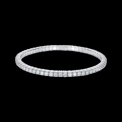 Large Advantage Bracelet in White Gold