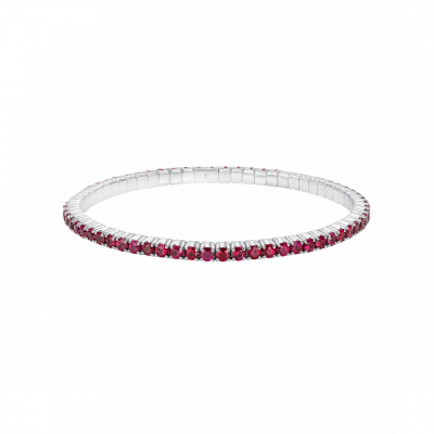 Large Advantage Ruby Bracelet