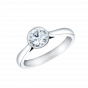 Venus Solitaire Round Diamond Ring