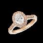 Regal Oval Diamond Ring