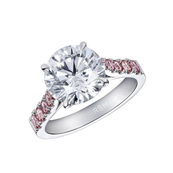 Reflection Diamond and Argyle Pink Diamond Ring