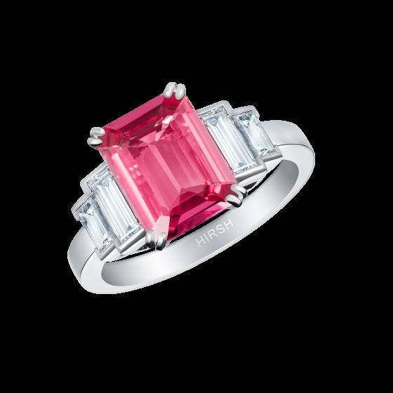 Artemis Padparadscha Sapphire Ring
