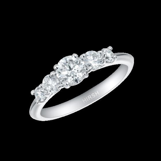 Cinq Diamond Ring