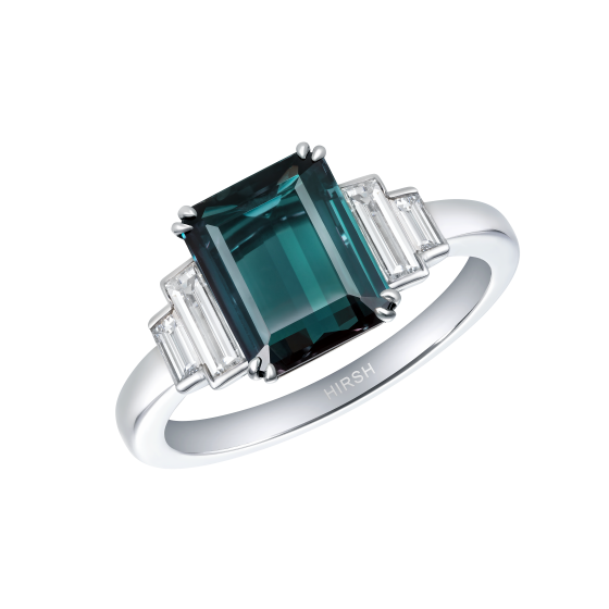 Artemis Alexandrite and Diamond Ring
