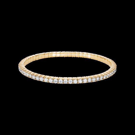 Large Advantage Bracelet in Yellow Gold