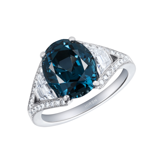 Majestic Spinel and Diamond Ring