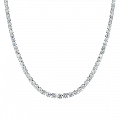 Diamond Riviera Line Necklace