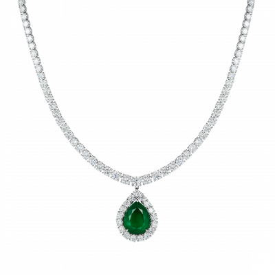 Imperial Emerald Necklace