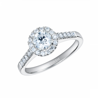 Regal Round Brilliant Cut Diamond Ring