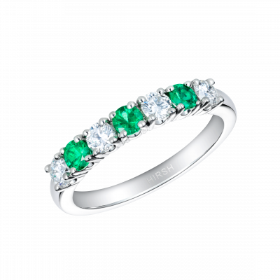 Lifetime Emerald and Diamond Ring