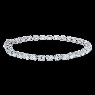 Brilliant Cut Oval Diamond Bracelet