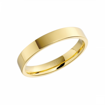 Yellow Gold Wedding Band 3mm