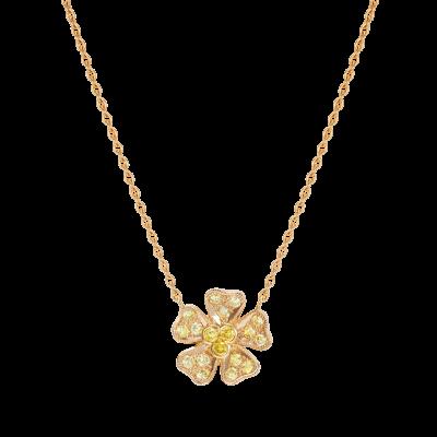 Wildflower Buttercup Pendant