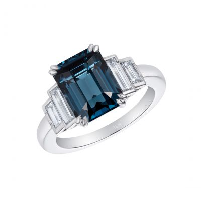 Artemis Cobalt Blue Spinel Ring