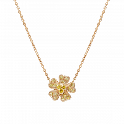 Wildflower Buttercup Pendant