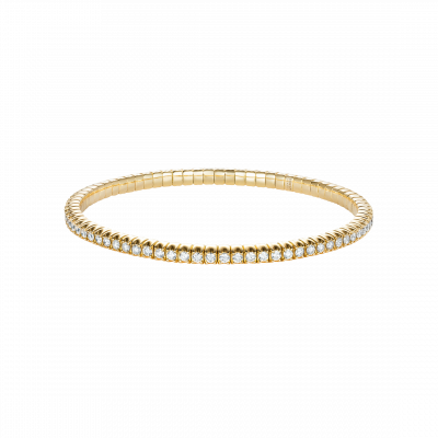 Advantage Diamond Bracelet in Yellow Gold