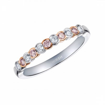 Lifetime Pink Diamond and Diamond Ring