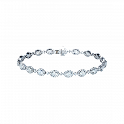 Oval Cut Diamond Regal Bracelet