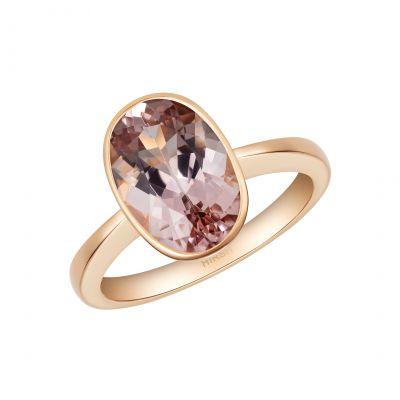 Venus Morganite Ring