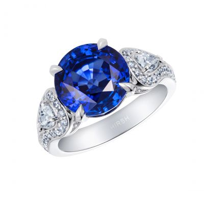 Majestic Sapphire and Diamond Ring