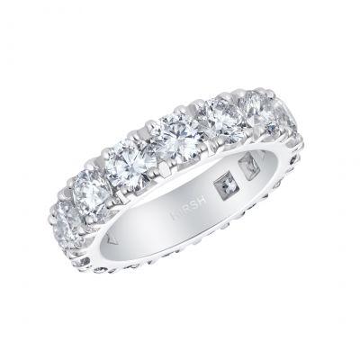 Signature Diamond Eternity Ring 6.03 Carats