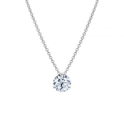 Solitaire Round Diamond Pendant