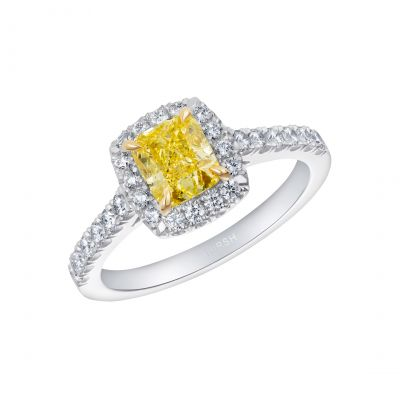 Regal Yellow Diamond Ring