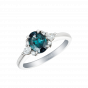 Papillon Alexandrite and Diamond Ring