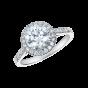 Regal Round Diamond Ring