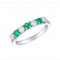 Lifetime Emerald and Diamond Ring