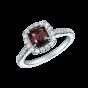 Regal Alexandrite and Diamond Ring