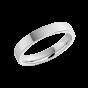 Platinum Wedding Band 3mm