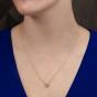 Regal Cognac Diamond Pendant