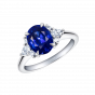 Papillon Sapphire and Diamond Ring